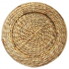 """13"""" Round Rattan Charger Plate"""