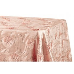 Flower Sequin Tablecloths