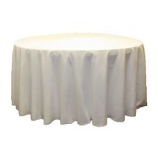 """Polyester Tablecloth 132"""""""