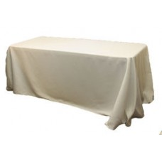"""Polyester Tablecloth 90"""" X 132"""""""