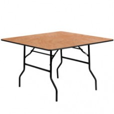 60″ Square Table