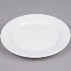 "White China Salad Plate 7 1/2"""