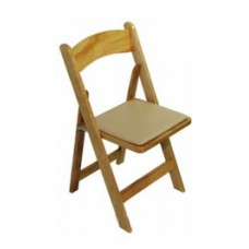Folding Chair Natural Wood