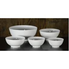 White Ceramic Serving Bowls